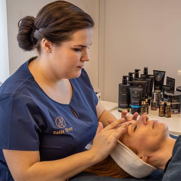 ansigtsbehandling cutis clinic